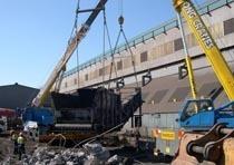 Демонтаж конструкций из металла в Таштаголе