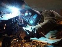 Устранение трещин и микротрещин в металле г.Таштагол